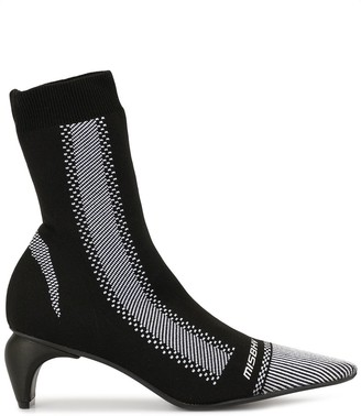 Misbhv knitted upper boots