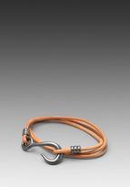 Giles & Brother Hook Wrap Bracelet