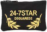 DSQUARED2 24-7 STAR clutch bag