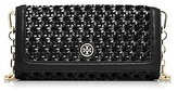 Tory Burch Robinson Basket-Weave Clutch