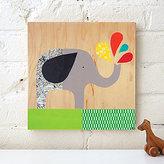 Petit Collage Elephant Splash
