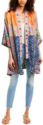 Johnny Was Bianca Reversible Silk Kimono