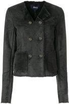 Armani Jeans faux fur jacket