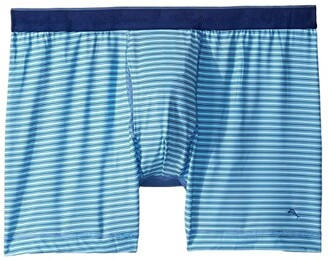 Tommy Bahama Mesh Tech Boxer Briefs (Blue Stripe) Men's Underwear