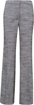 Schumacher Dorothee Structured Ambition Tweed Straight-Leg Pants