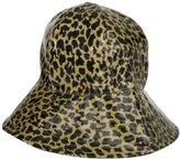 San Diego Hat Company San Diego Hat Women's Leopard Bucket Rain Hat