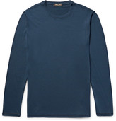 Loro Piana - Cotton And Cashmere-blend Jersey T-shirt