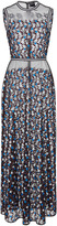 Cynthia Rowley Embroidered Mesh Dress