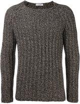 Valentino bi-colour knit sweater