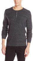 Kenneth Cole New York Kenneth Cole Men's Pique Henley Sweater