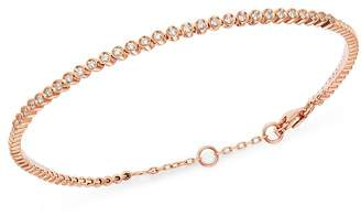 Bloomingdale's Bezel-Set Diamond Stacking Bracelet in 14K Rose Gold, 0.25 ct. t.w. - 100% Exclusive