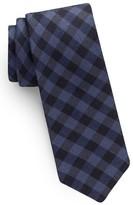 Ted Baker Men's Check Silk & Wool Skinny Tie