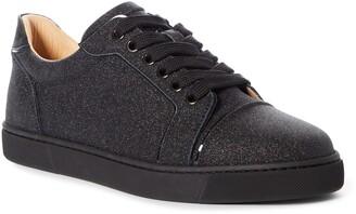 Christian Louboutin Vieira Glitter Leather Sneaker