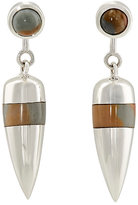 Pamela Love Women's Pendulum Ear Jackets-Silver