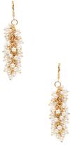 Kenneth Jay Lane Pearl Cluster Statement Earrings