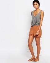 Vero Moda Pom Pom Trim Shorts