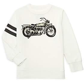 Chaser Little Boy's Motorcycle Pullover Sweatshirt