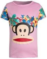Paul Frank FLOWERS Print Tshirt light berry