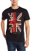 Ben Sherman Men's Short Sleeve Crew Neck Union Jack Tee