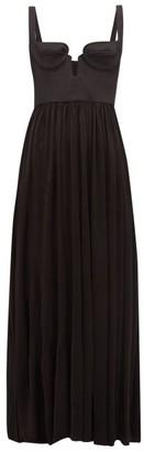 Ellery Dangerous Acquaintance Corset Dress - Womens - Black
