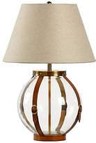 Chelsea House Sierra Table Lamp - Clear/Chestnut