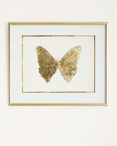 "John-Richard Collection Shimmering Butterfly V"" Artwork"