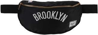 Herschel Unbranded Black Brooklyn Nets Sixteen Hipsack
