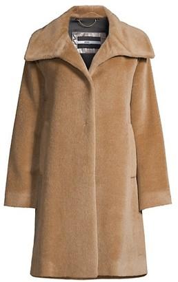Jane Post Classic A-Line Coat