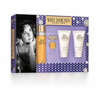 Elizabeth Taylor White Diamonds Ladies Gift Set With Spray