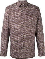 Burberry oval print shirt - men - Cotton - S