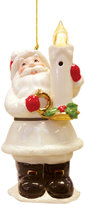Lenox Whimsical Blow Out Lights Santa Ornament