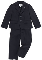 Armani Junior Boys' Two-Piece Suit, Blue, 2Y-8Y