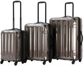 Silver Triad Spinner Three-Piece Luggage Set