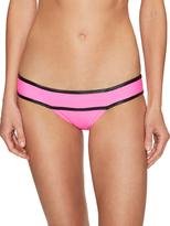 Pilyq Piped Banded Teeny Bikini Bottom