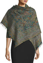 Sabira Games of Glory Wool Paisley Scarf