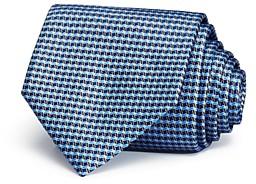 Ermenegildo Zegna Wavy Box Neat Classic Tie