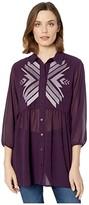 Ariat Awakening Tunic (Irises) Women's Clothing