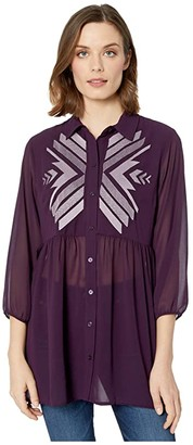 Ariat Awakening Tunic (Irises) Women's Clothing