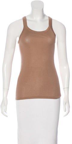 Vanessa Bruno Knit Sleeveless Top w/ Tags