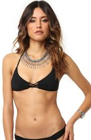 O'Neill Women's 'Salt Water' Solid Triangle Bikini Top