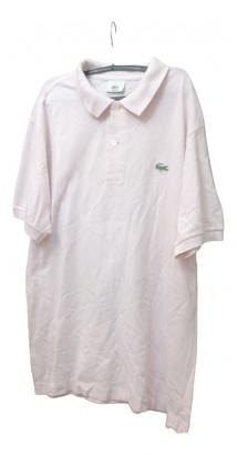 Lacoste Pink Cotton Polo shirts