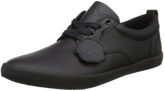 Kickers Men's Kariko Gibb Black Leather Shoes 10 UK
