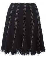 Alexander Wang ring pierced skirt