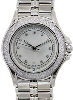 Mauboussin 18K White Gold Diamond Automatic Ladies Watch