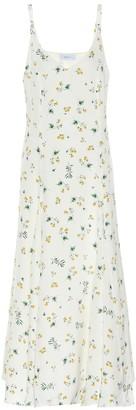Racil Ava silk crepe slip dress