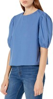 Thumbnail for your product : The Drop Women's Adele Loose Puff Short Sleeve Poplin Shirt