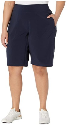 Columbia Plus Size Place to Placetm II Shorts (Dark Nocturnal) Women's Shorts