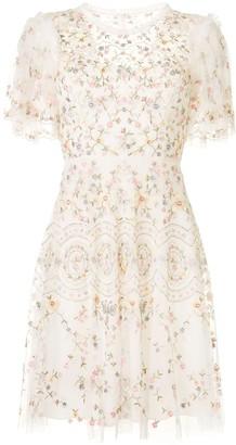 Needle & Thread Sweet Petal embroidered dress