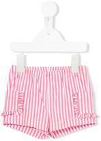 Il Gufo striped shorts - kids - Cotton/Spandex/Elastane - 6 mth
