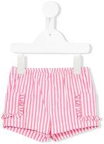 Il Gufo striped shorts - kids - Cotton/Spandex/Elastane - 9 mth